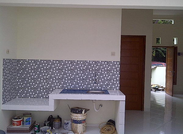 Perkiraan Biaya Renovasi Dapur Minimalis Sederhana ukuran 2 x 6