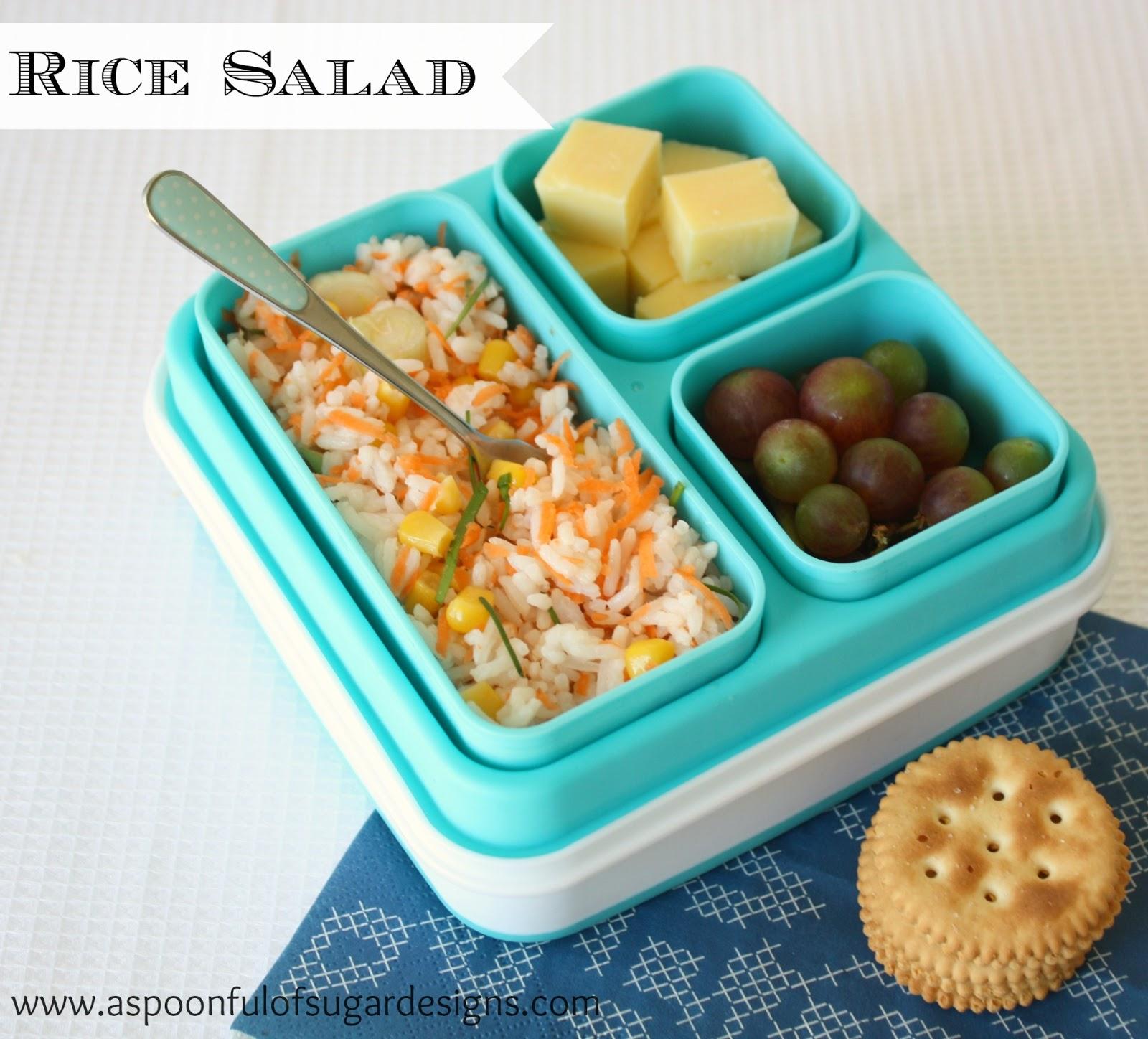 Lunch Box Ideas - A Spoonful of Sugar