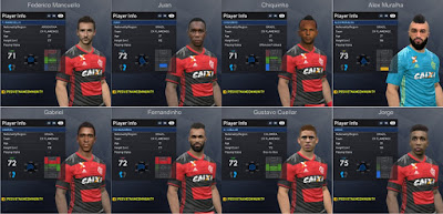 PES 2017 CR Flamengo Facepack 1.0