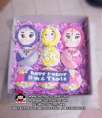 Cupcake India Fondant 2D