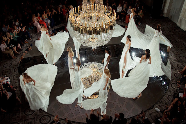 Pronovias, New York Bridal Week, novias, Atelier Pronovias, deboda, trajes de novia, fashion, Made in Spain, Katie Cassidy, Jessi Malay, Mary Seng, Renata Zanchi, Andy Adler, Hanna Verhees, Keke Lingard,