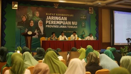 Jaringan Perempuan NU Jateng Komitmen Menangkan Jokowi