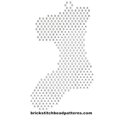 Brick Stitch Bead Patterns Journal: Free Christmas