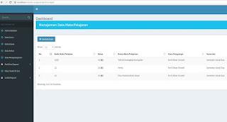 Source Code Aplikasi E-Raport Siswa Dengan Codeigniter