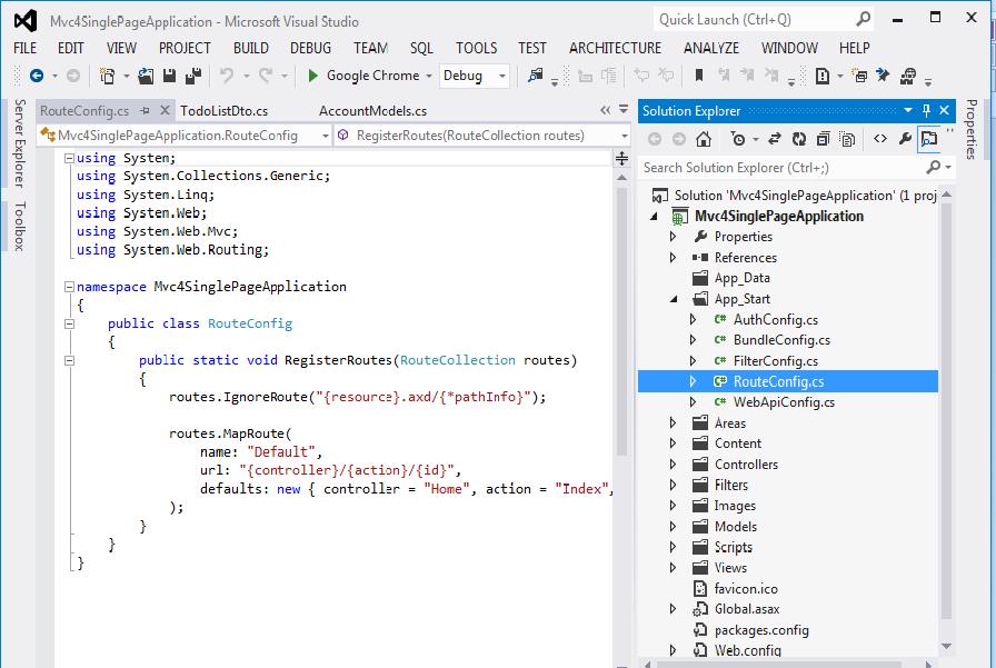 Single Page Application Mvc 4 Example Angular 6 5 4