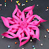 Paper Snowflakes- DIY Party Decorations Paper Crafts