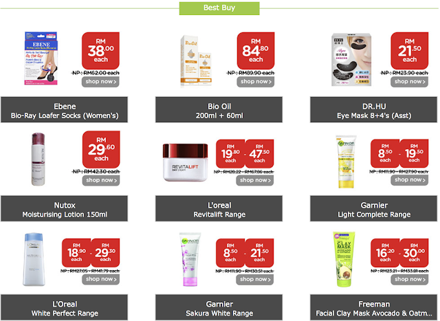 Watsons 4 Day Members Sale Best Buy