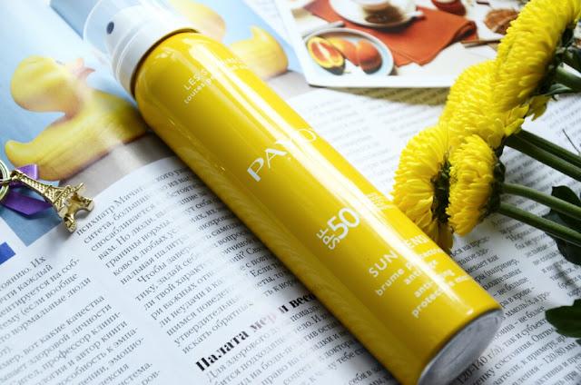E_katerina: Солнцезащитный антивозрастной спрей для лица и тела Payot Sun Sensi SPF 50