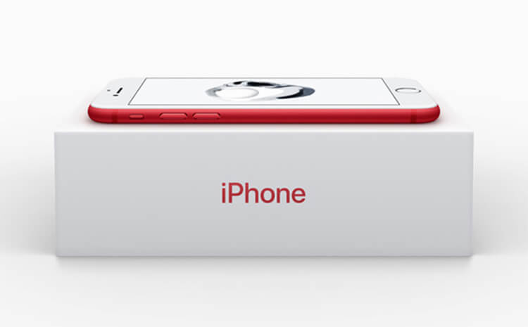 iPhone 7 and iPhone 7 Plus RED Special Edition