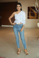 Avantika Mishra in One Shoulder Crop Top and Denim Jeggings ~  Exclusive 027.JPG