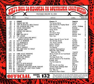 KHJ Boss 30 No. 132 - January 10, 1968
