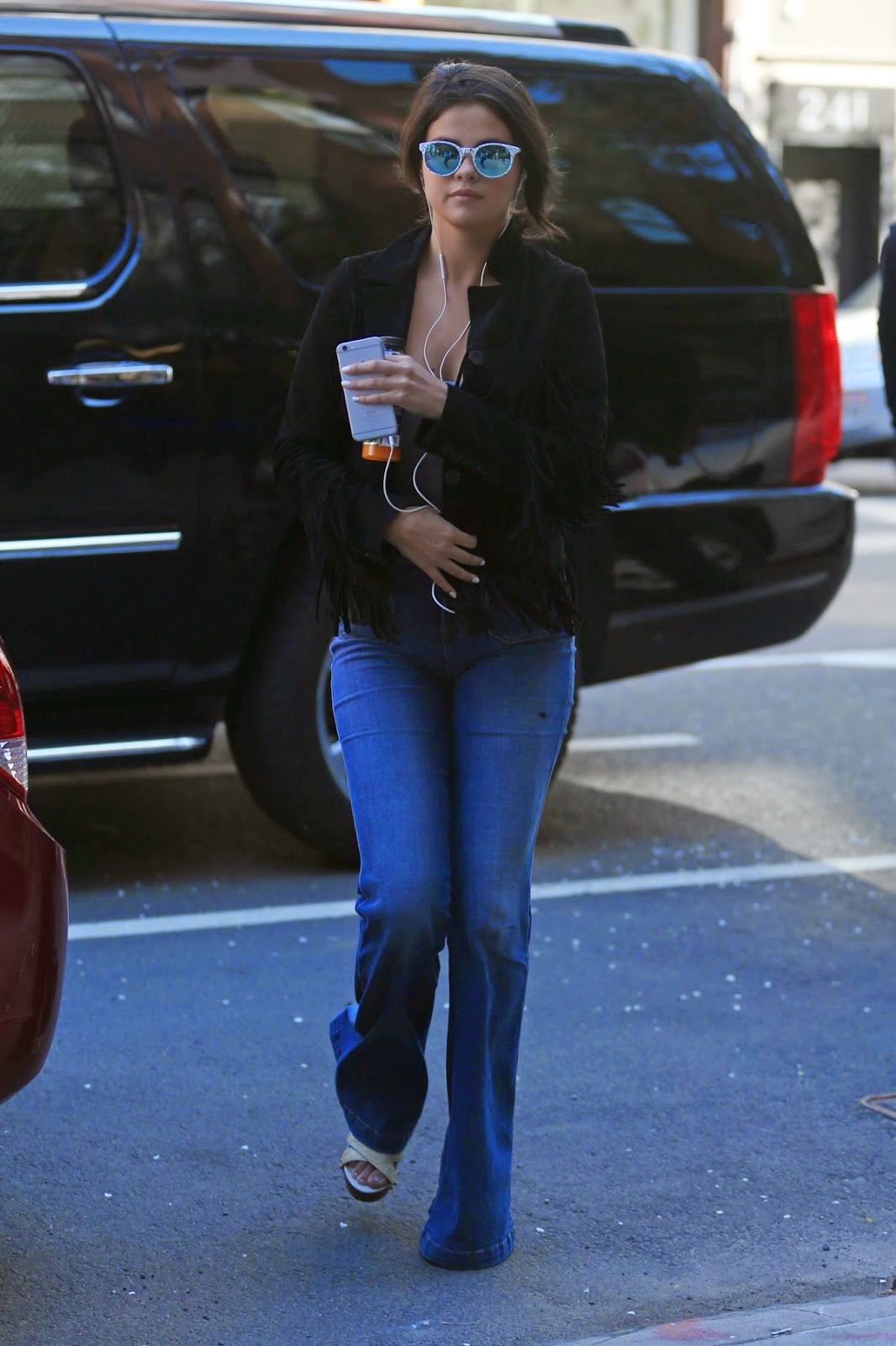 Selena Gomez out and about in NYC