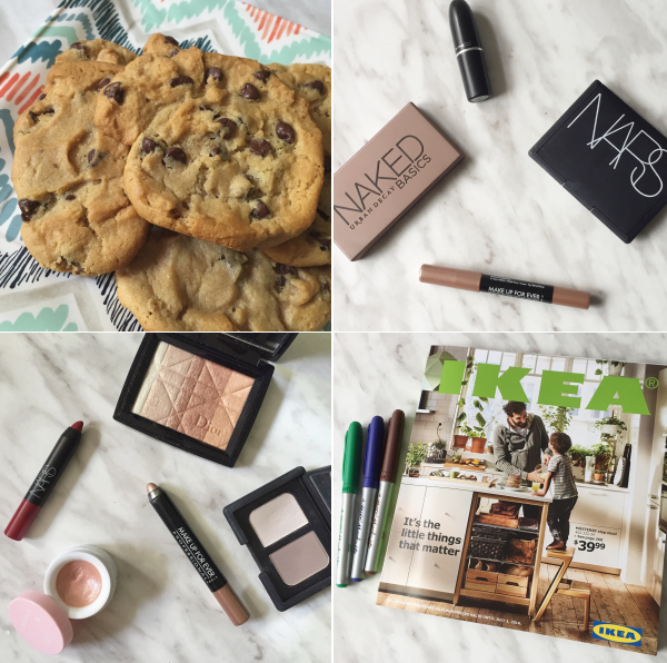 instagram instamonth bbloggers bbloggersca makeup cookies nars sephora dior mufe korres urban decay ikea