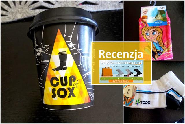RECENZJA: SKARPETKI  CUP of SOX, FROZEN, TODO | Na-stopy