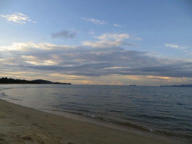 Вечернее море на Самуи