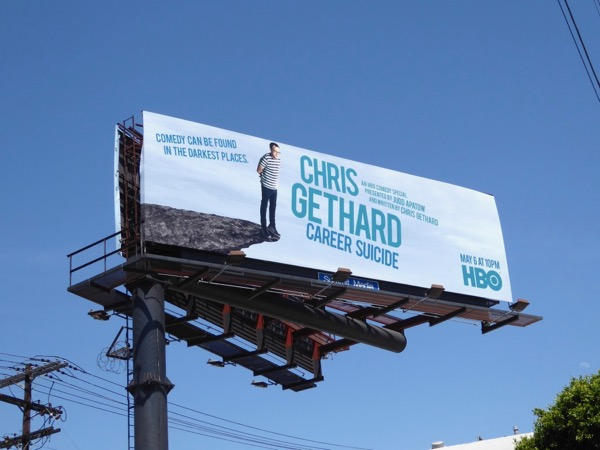 Chris Gethard Career Suicide HBO billboard