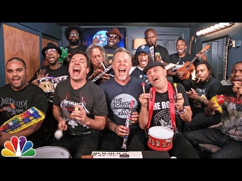 Jimmy Fallon y Metallica