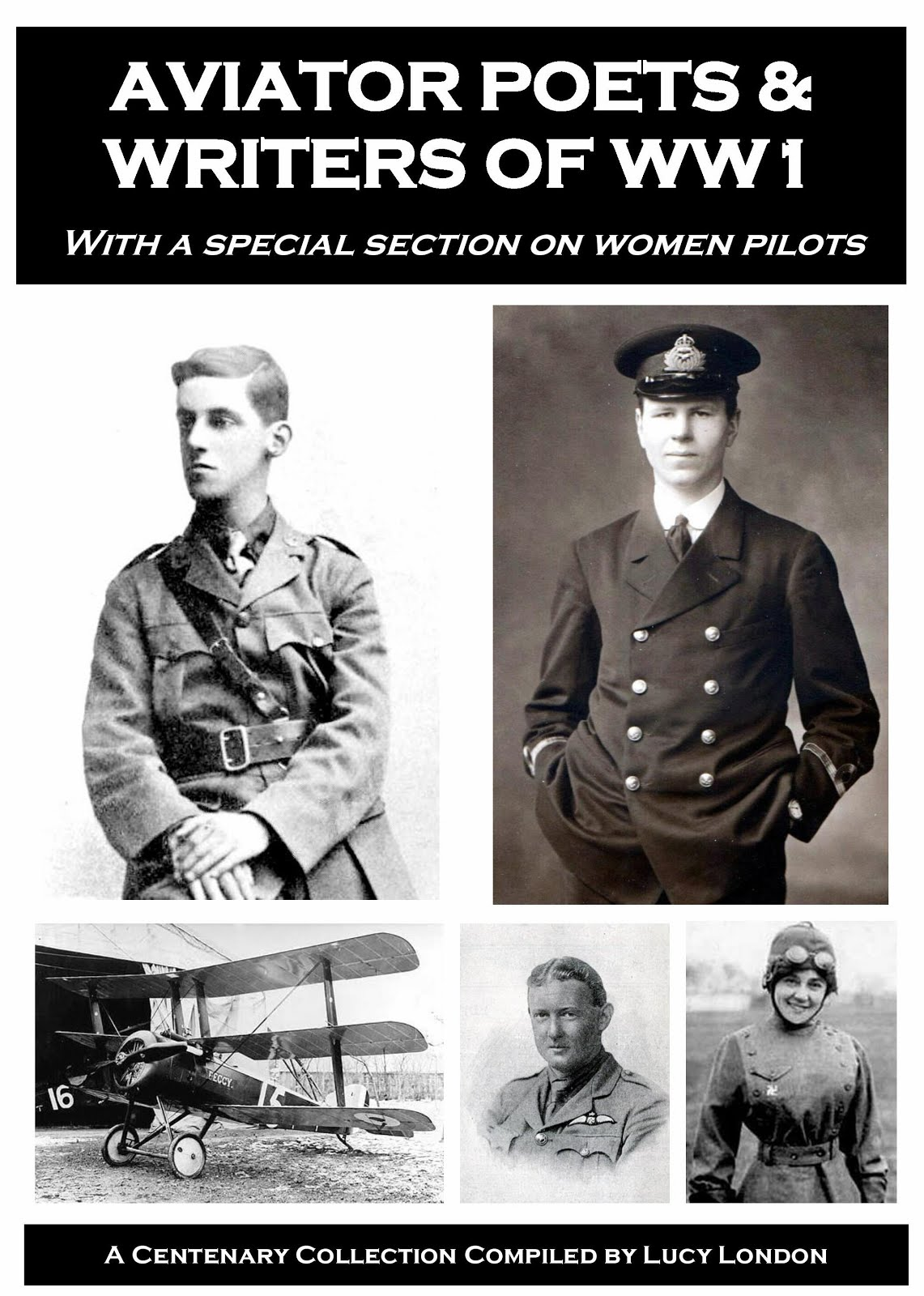 Aviator Poets & Writers of WW1 - new book now available
