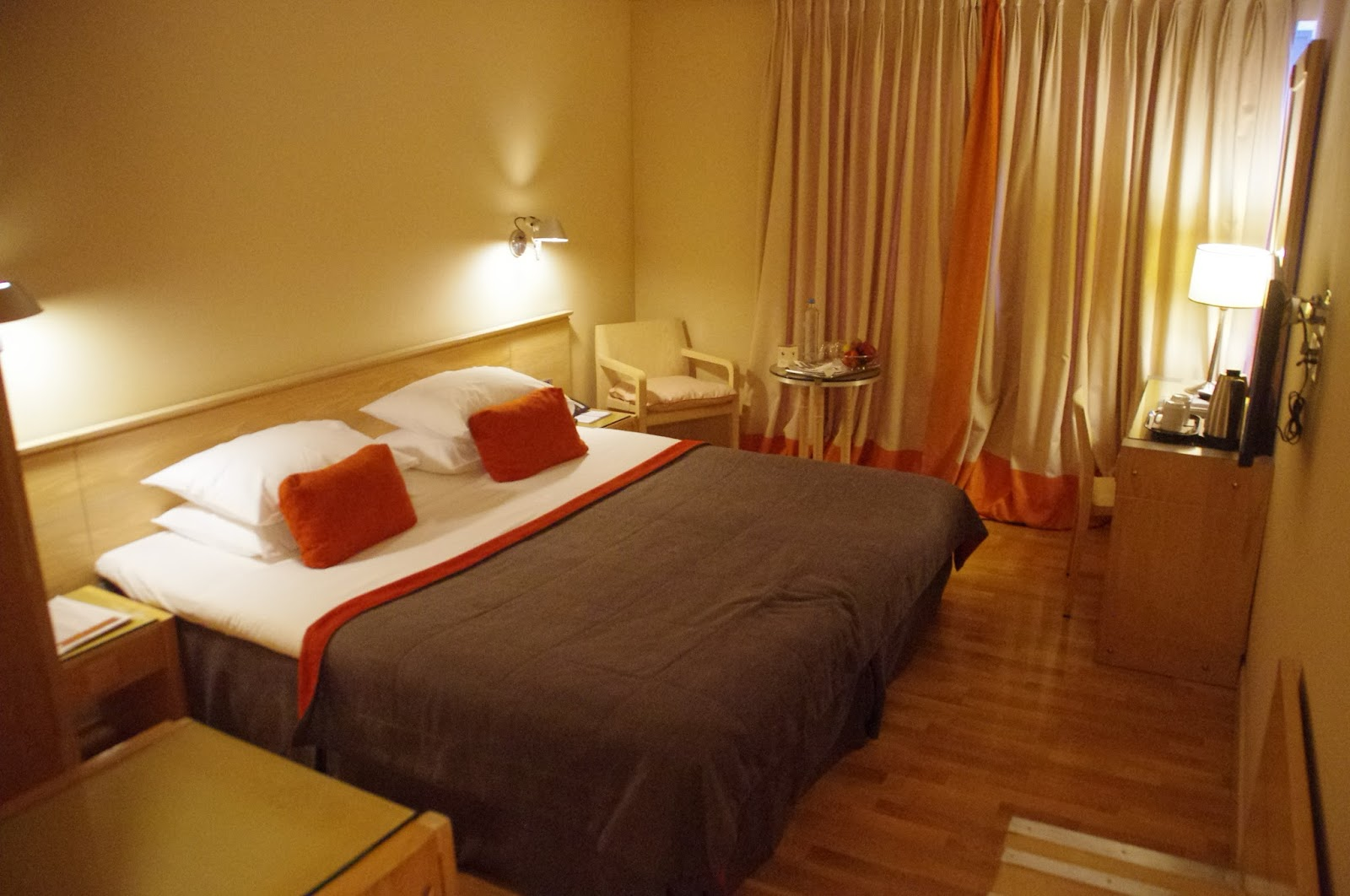 The Herodion Hotel Bedroom