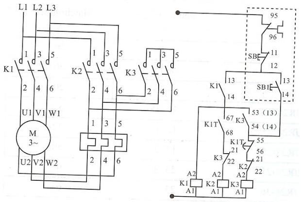 star delta motor starter 11kw - 415v