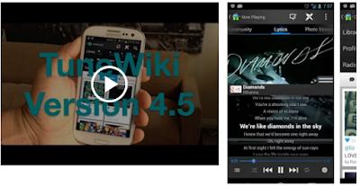 Aplikasi Musik Android Yang Bisa Menampilkan Lirik Lagu