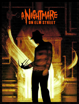A Nightmare on Elm Street Screen Print by Sam Wolfe Connelly x Bottleneck Gallery