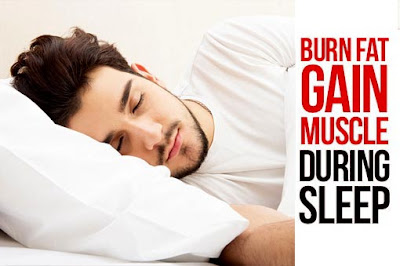 How To Burn Fat While You Sleep! Yeah