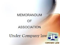 LLB student notes, company law guide, Memorandum of association
