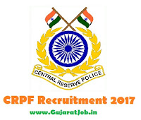 CRPF Recruitment 2017 2945 Constables Posts @ crpf.nic.in