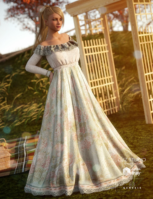 Garden Party for Belle Dress