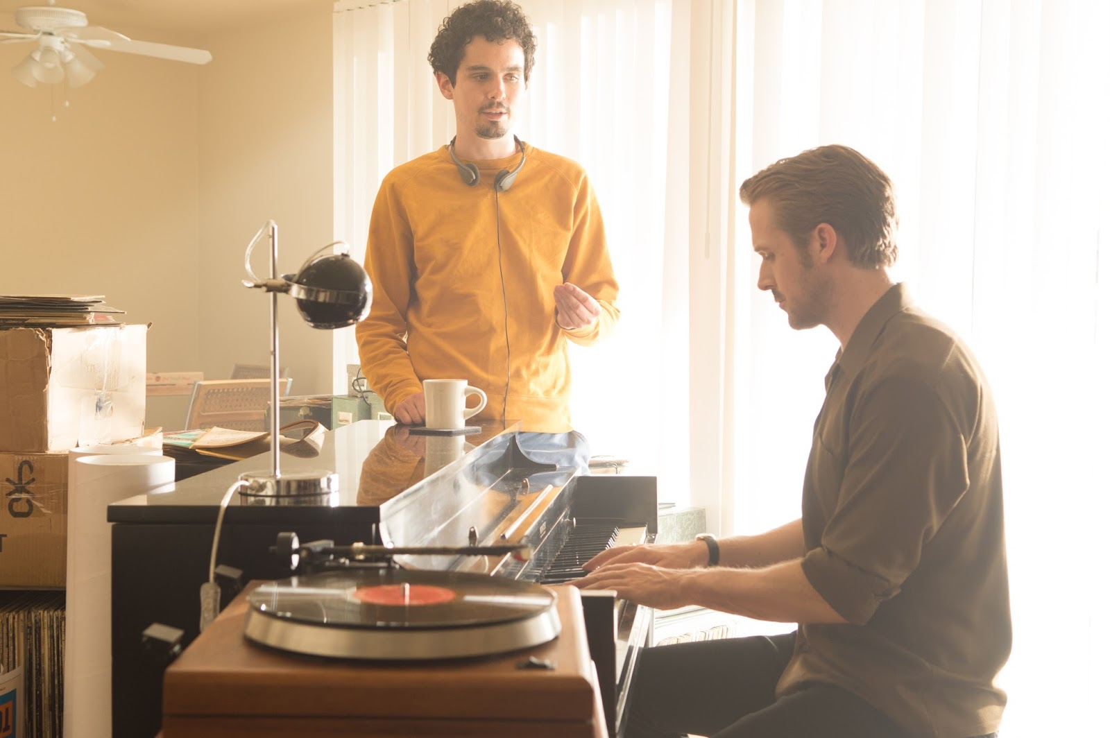 Damien Chazelle y Ryan Gosling , Lalaland