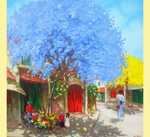 Quarto Velho - Pinturas do vietnamita Lam Duc Manh