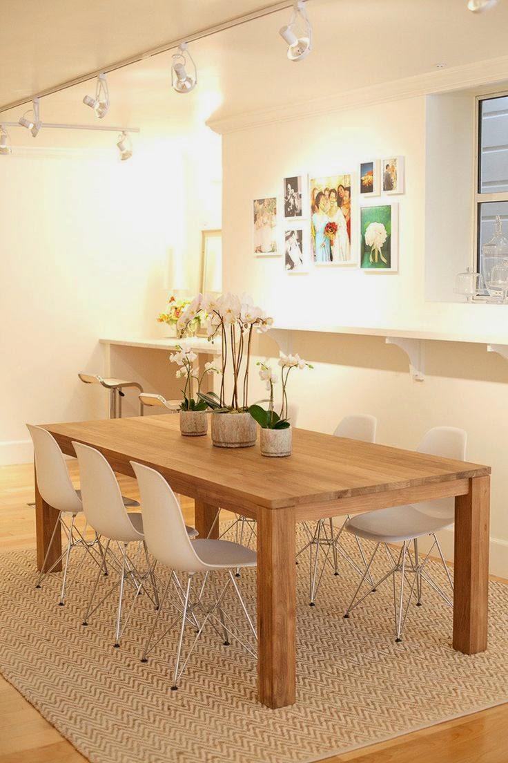 Ideias para decorar a mesa de jantar jeito de casa blog de decora o e arquitetura - Mesas de centro que se elevan ...