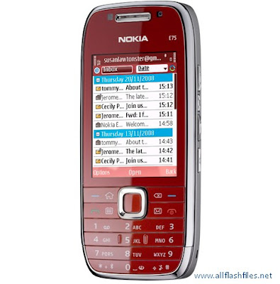 Nokia E75 (1) RM-412 Flash File/Firmware Download Free
