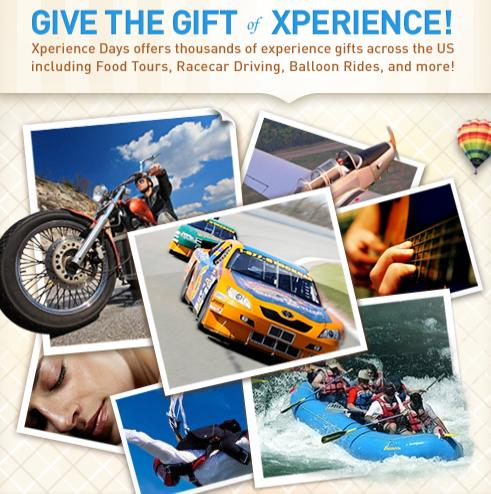 3cb0e9e68f8 Unique Gift Ideas   50 Experience Days Gift Certificate Giveaway
