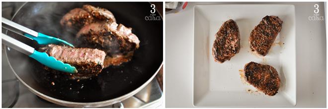 steak au poivre passo a passo
