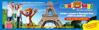 Castiga o excursie la Disneyland Paris alaturi de familia ta