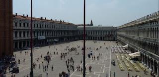 Plaza de San Marco desde la Logia dei Cavalli.