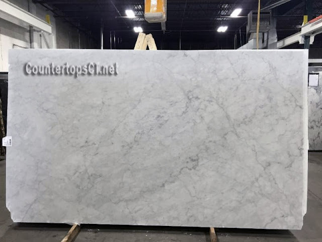 Bianco carrara honed marble slabs