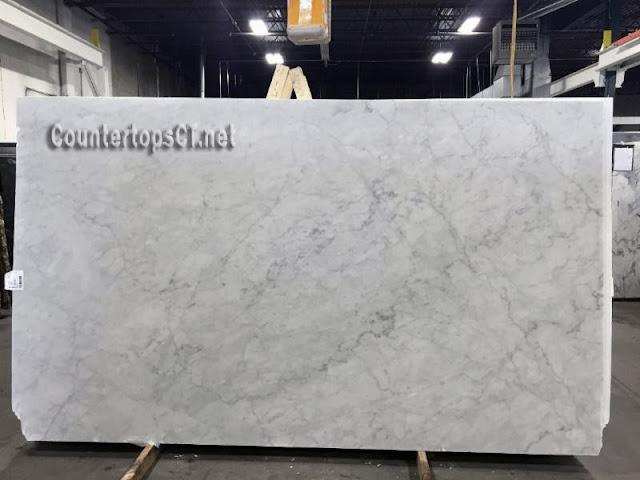 Bianco carrara honed marble slabs
