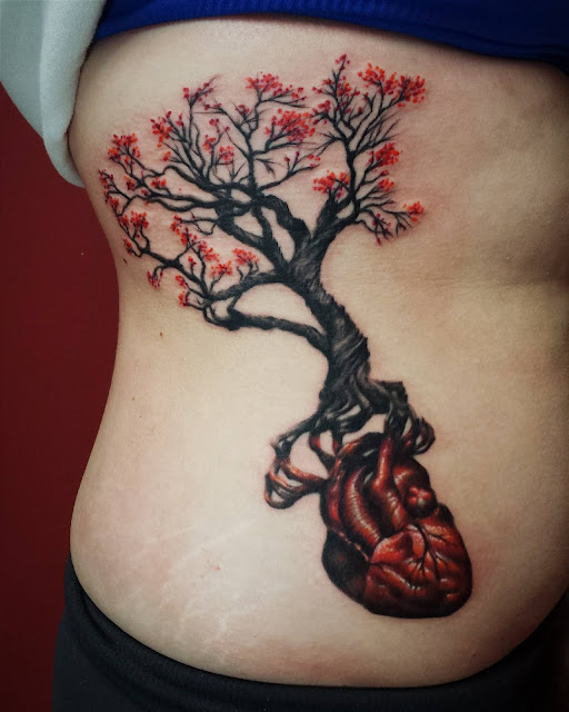 amazing-beautiful heart tattoo-4