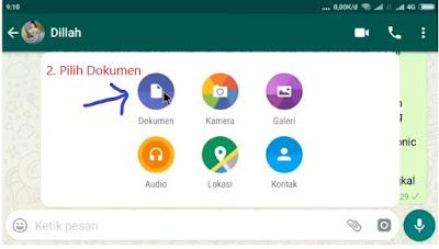 Cara Kirim File Dokumen Apapun di WhatsApp Cara Kirim File Apapun di WhatsApp Tanpa Ribet
