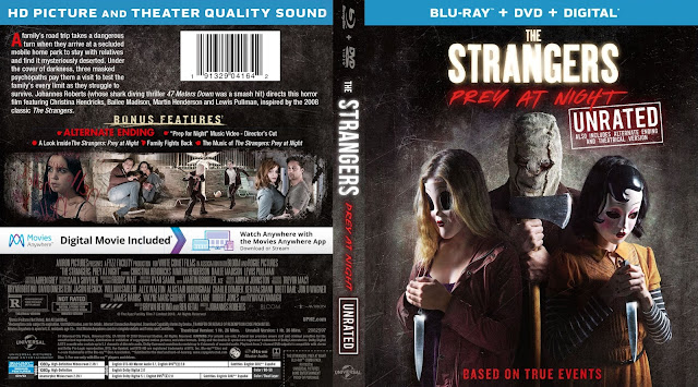 The Strangers: Prey at Night Bluray Cover