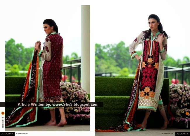 Embroidered Lawn Dresses