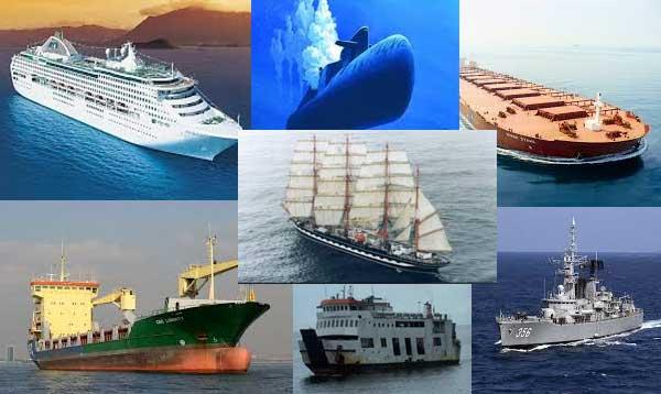 Jenis-jenis Kapal Laut dan Fungsi kapal laut