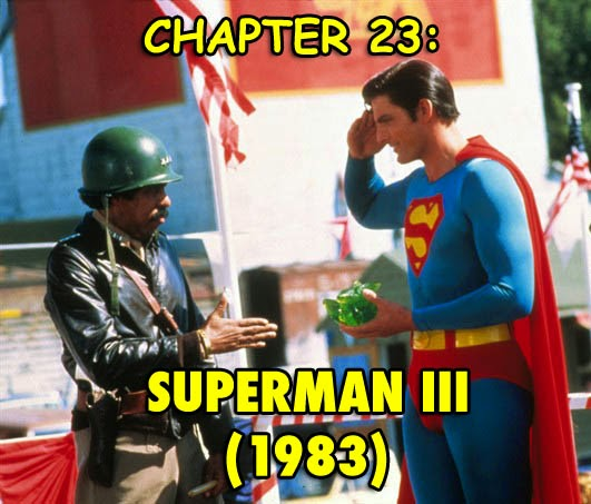 Superman 3 movie Christopher Reeve Richard Pryor sequel superhero film