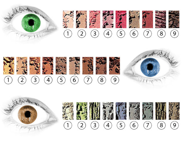 Welcher Lidschatten Passt Zu Braunen Augen Irsada's Beauty-full World: Which Eyeshadow-color For