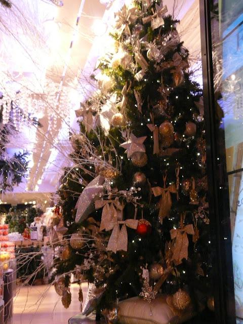 Londres Harrods à Noël