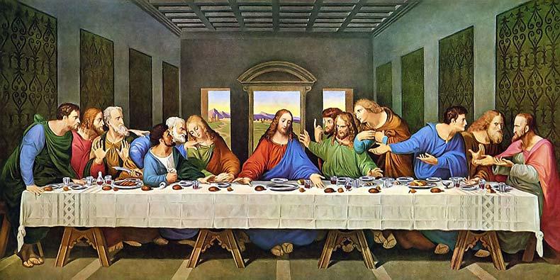 Известные картины мира – Тайная вечеря