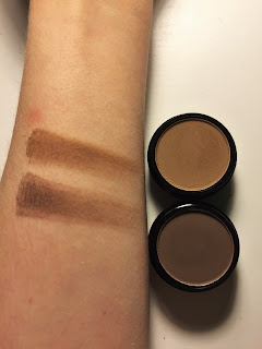 City Color The Brow Effect swatches